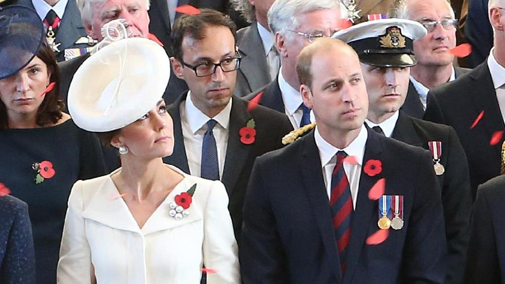 Foto: Pakai Gaun Lama pun Kate Middleton Tetap Memesona