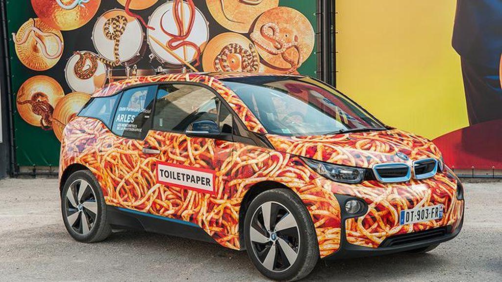 Demi Amal, Orang Ini Rela Keluarkan Rp 1.5 Miliar Ubah Mobil BMW Jadi Spaghetti Car