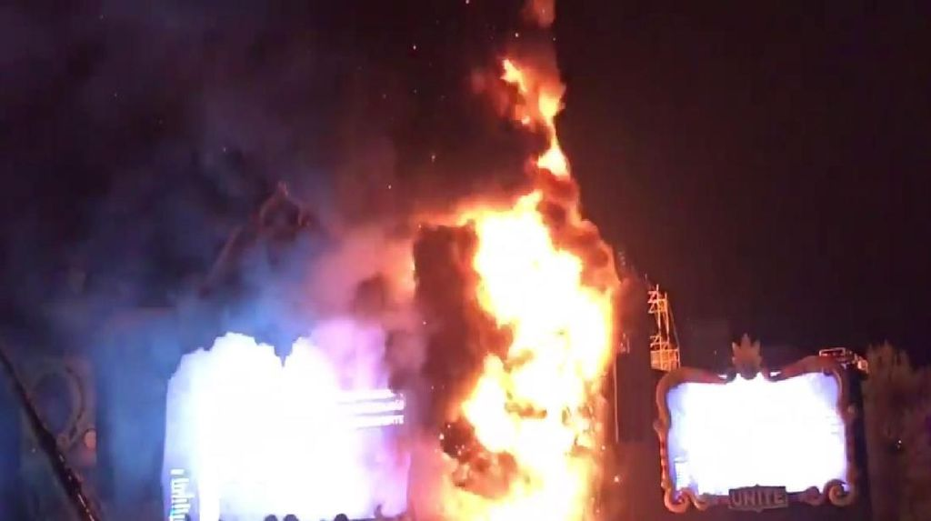 Tidak Ada Korban Jiwa dalam Kebakaran di Tomorrowland