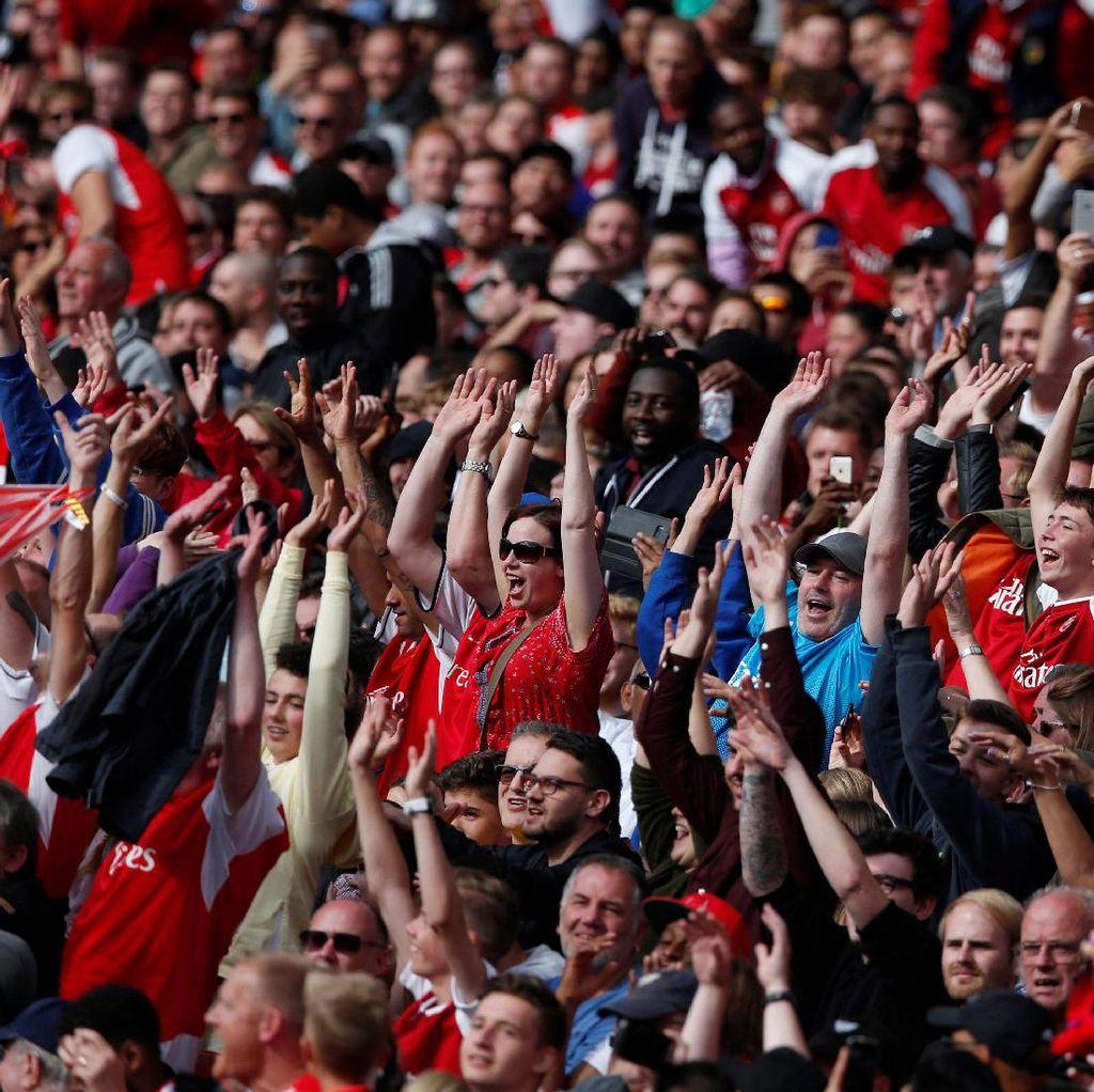 Arsenal Akan Subsidi Fans yang Berencana ke Wanda Metropolitano