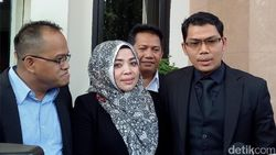 Dilaporkan Mantan Suami, Muzdhalifah Penuhi Panggilan Polisi