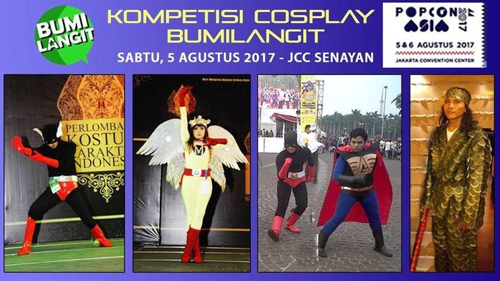 Popcon Asia 2017 Gelar Kompetisi Cosplay Karakter Pahlawan Lokal