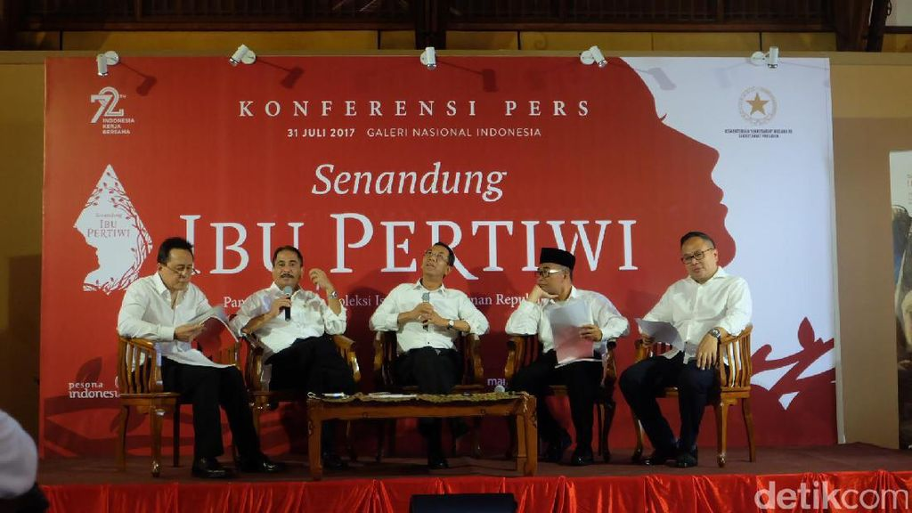 Pameran Lukisan Koleksi Istana Kepresidenan akan Dipromosikan ke 4 Kota