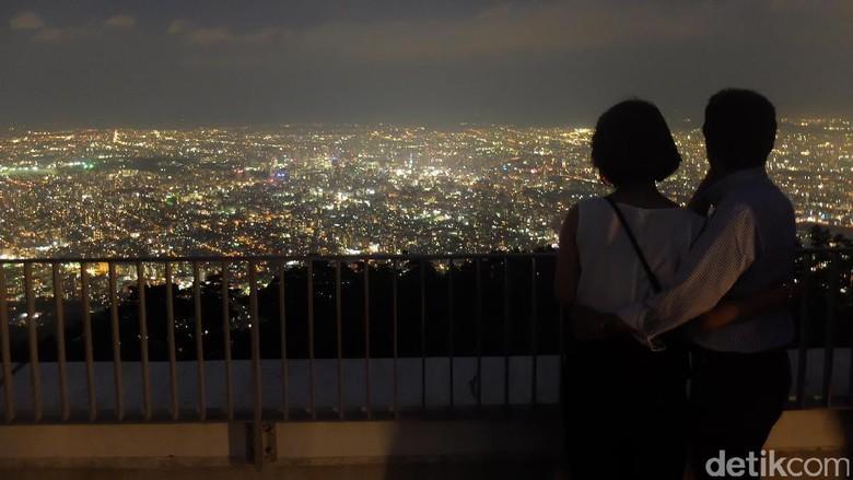 Pemandang Kota Sapporo yang romantis (Baban/detikTravel)