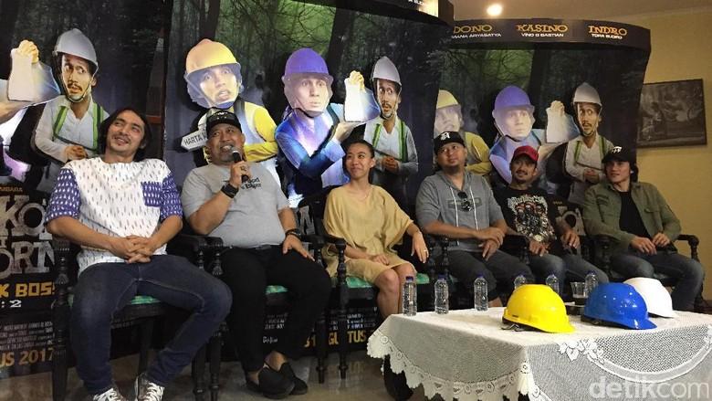 Warkop DKI Reborn 2 Tak Lupa Selipkan Singgungan Soal Isu Sosial