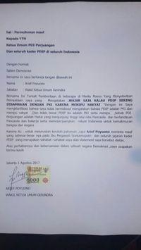 Waketum Gerindra Minta Maaf Soal 'Wajar PDIP Disamakan dengan PKI'