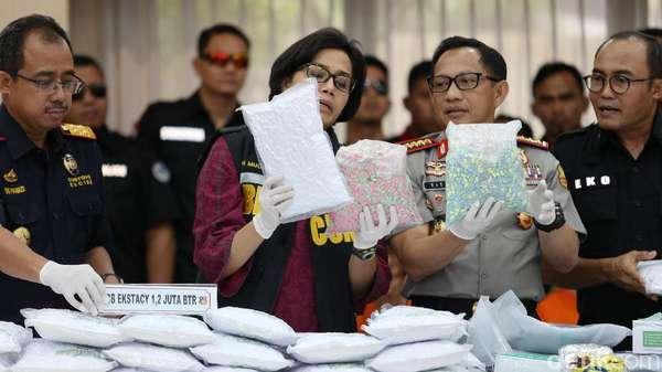 Indonesia Diserbu 1,5 Ton Sabu di 2017!