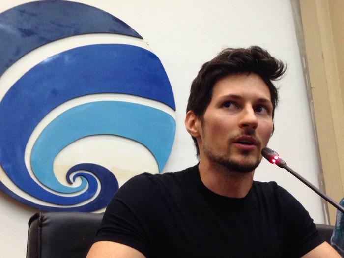 CEO Telegram Pavel Durov. Foto: Agus Tri Haryanto/inet