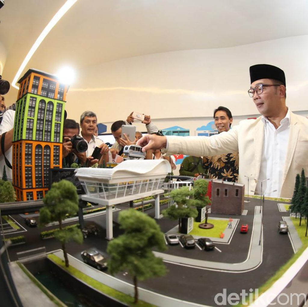 Ini Alasan Ridwan Kamil Tidak Larang Transportasi Online