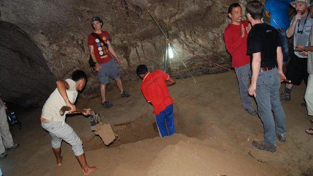 Konon gua ini menyimpan bukti tsunami ribuan tahun silam