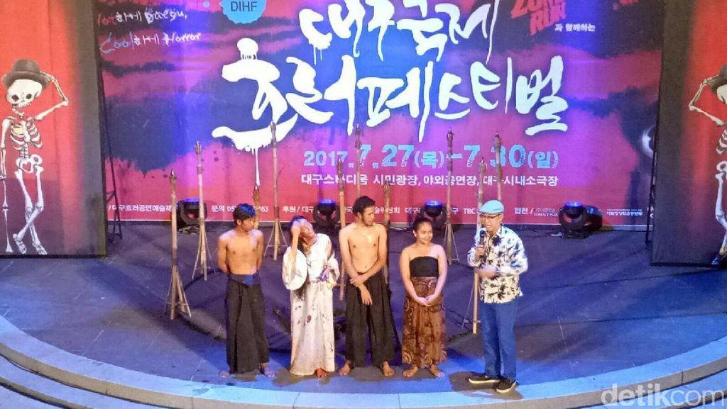 Hantu Kuntilanak Takuti Publik Korea