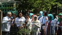 Saat Iriana Jokowi Tinjau Kampung Sejahtera di Tangerang