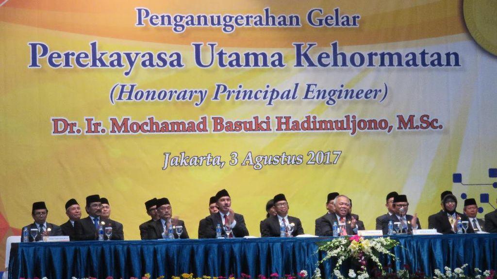 Menteri PUPR Dapat Gelar Kehormatan dari BPPT