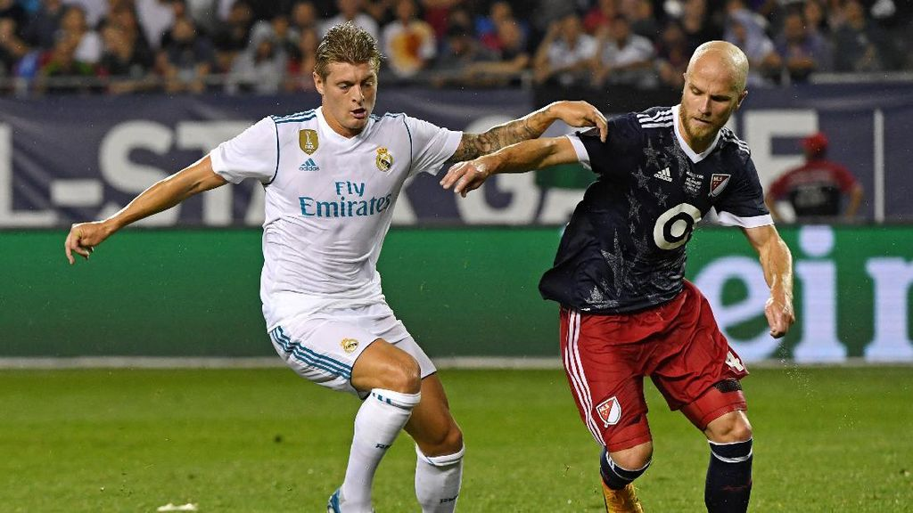 Madrid Kalahkan MLS All-Stars lewat Adu Penalti