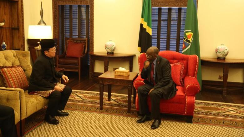 Dubes RI Dapat Dukungan Presiden Tanzania Tingkatkan Hubungan Dagang