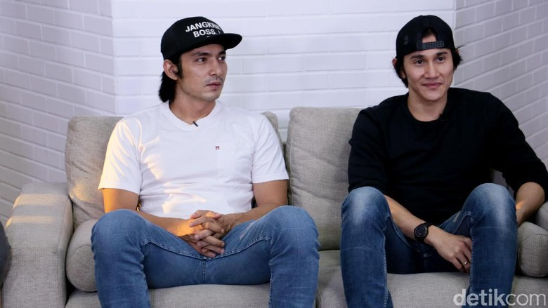 Foto: Abimana dan rekannya, Vino G Bastian (Asep Syaifullah/detikHot)