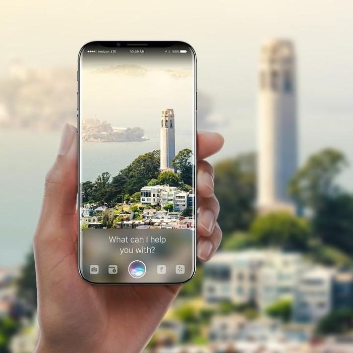 Kosep iPhone 8. Foto: Internet