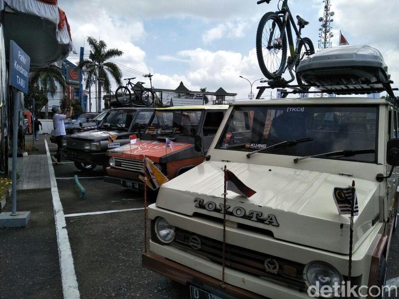 Orang Brunei Kaget Mobil Tua Toyota Kuat Touring 3 Negara