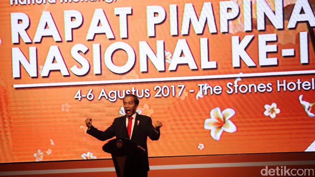 Pesan Anti Rutinitas dari Jokowi