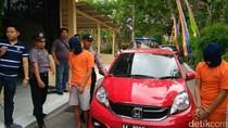 Pelaku Perampasan Taksi Online di Sleman Tertangkap
