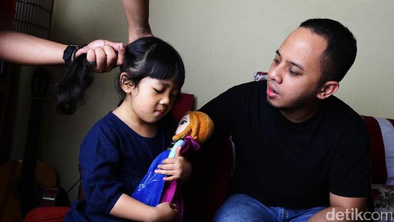 Saat Libur, Ayah Punya Waktu Santai Lebih Banyak Dibanding Bunda (Foto: Hassan/detikcom)