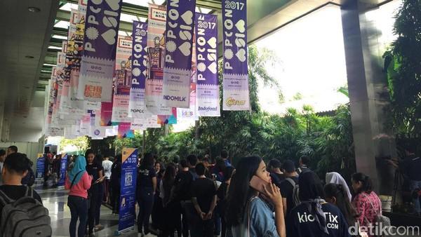 Hari Pertama, Popcon Asia 2017 Dipenuhi Pengunjung Sedari Pagi
