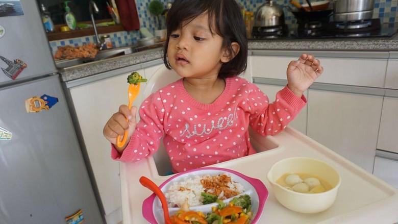 Tips agar anak nggak susah makan/ Foto: dok HaiBunda