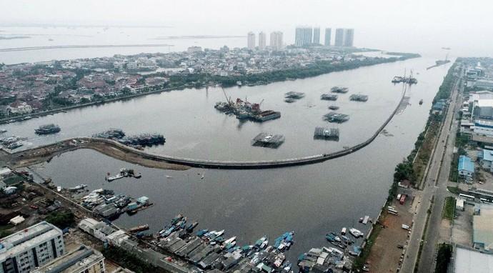 Foto: Ini Penjaga Jakarta Agar Tak Tenggelam