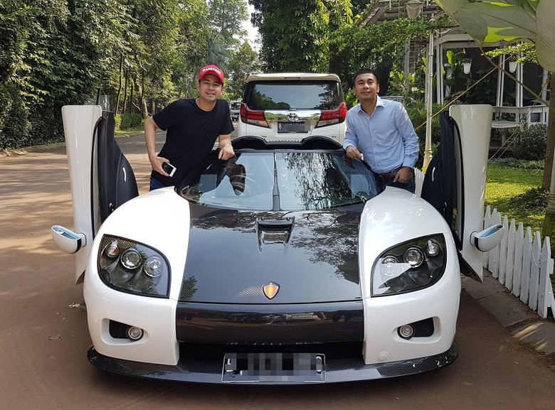 Koenigsegg di Rumah Raffi Ahmad Cuma untuk Syuting Film Pendek