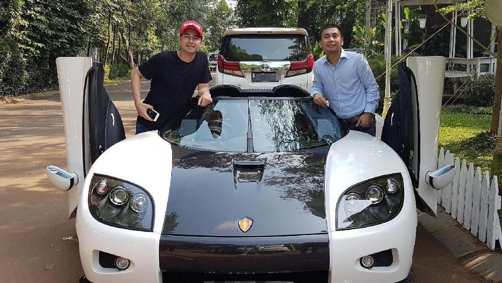 Raffi Pamer Koenigsegg, Netizen: Beli Bibit Pohon Duit di Mana?