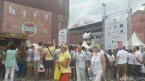Riuhnya Warga Rusia di Festival Indonesia ke-2