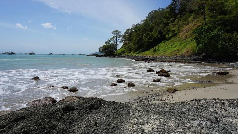 Salah satu sudut Pulau Kunti Sukabumi (Mukhlis/detikTravel)