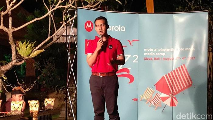 Adrie R. Suhadi, Country Manager MBG Lenovo Indonesia (Yudhianto/detikINET)
