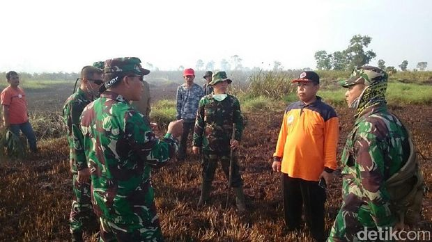 120 Hektare Lahan Terbakar di Ogan Ilir, Kabut Asap Ganggu Warga