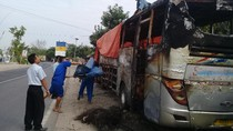 Polisi Lacak Pemilik Motor Penyebab Sugeng Rahayu Terbakar