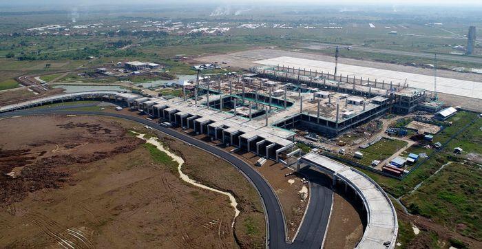 Dari data Kemenhub yang diterima detikFinance, Senin (7/8/2017), pembangunan akses dan infrastruktur bandara sudah mendekati tahap final. Pool/Kemenhub.