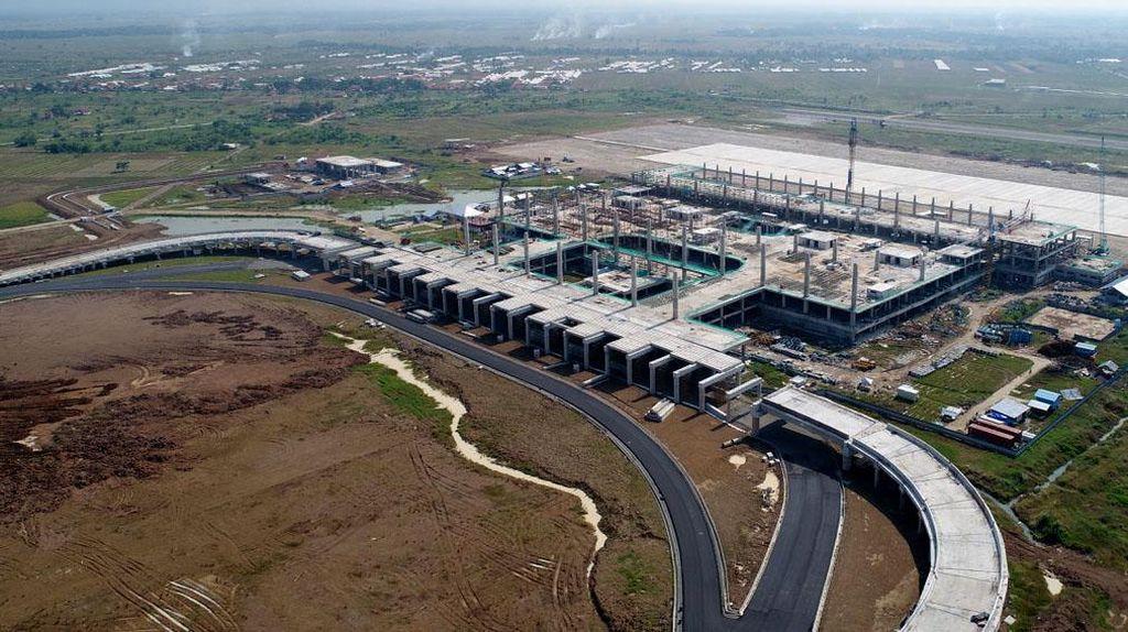 Mengintip Pembangunan Sisi Udara dan Darat Bandara Kertajati