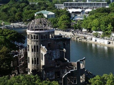 Napak Tilas Ledakan Bom Atom di Hiroshima