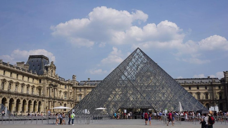 Foto: Museum Louvre di Paris (Ahmad Toriq/detikTravel)