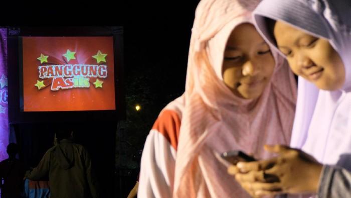 Foto: Panggung Asik Telkomsel