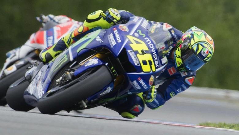 Finis Keempat Tak Terlalu Buruk buat Rossi