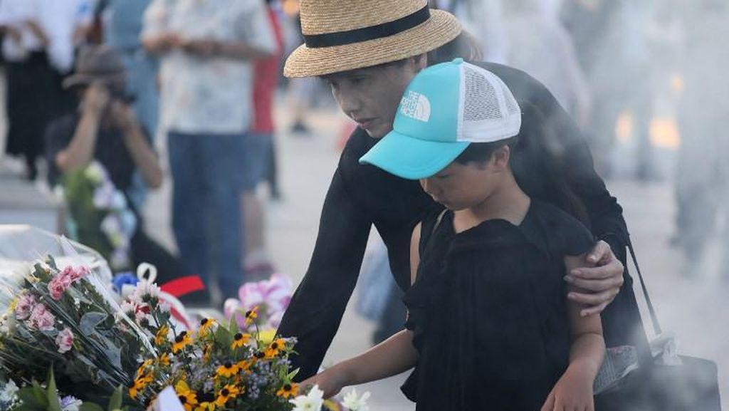 Foto: Suasana Peringatan 72 Tahun Bom Atom Hiroshima