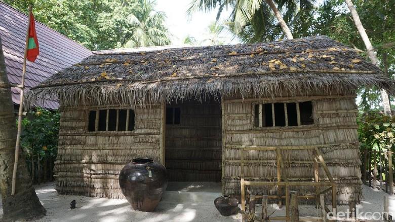 Inilah Rumah asli Maldives (Afif Farhan/detikTravel)