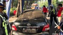 Polisi Tetapkan Tersangka Kasus STNK Palsu Vios yang Ugal-ugalan