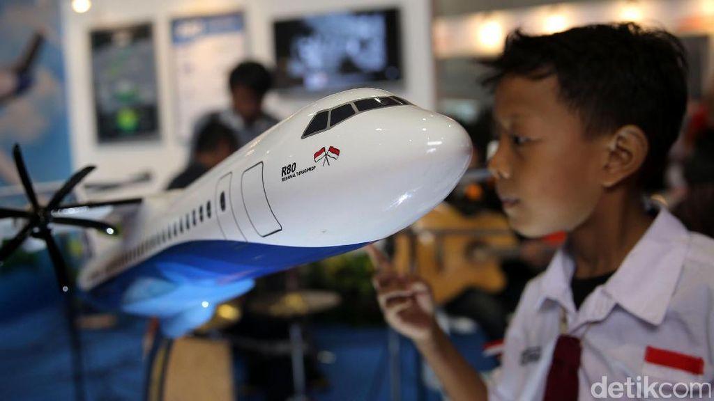 Patungan Untuk Pesawat R80 Habibie Tembus Sampai Rp 5 M
