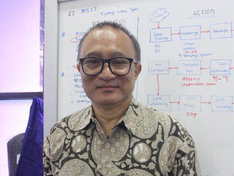Wakil Rektor Bidang Kemahasiswaan dan Alumni President University, Dr. Agus H. Canny