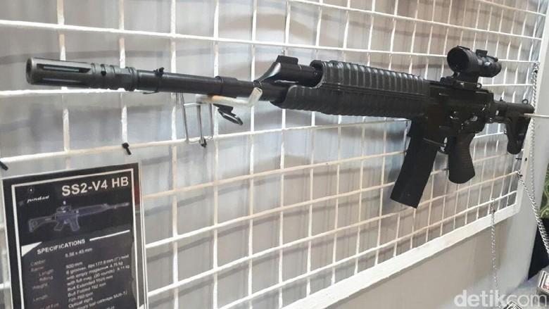 Ini Senjata Pindad yang Dipakai TNI AD Menang Lomba Tembak ASEAN