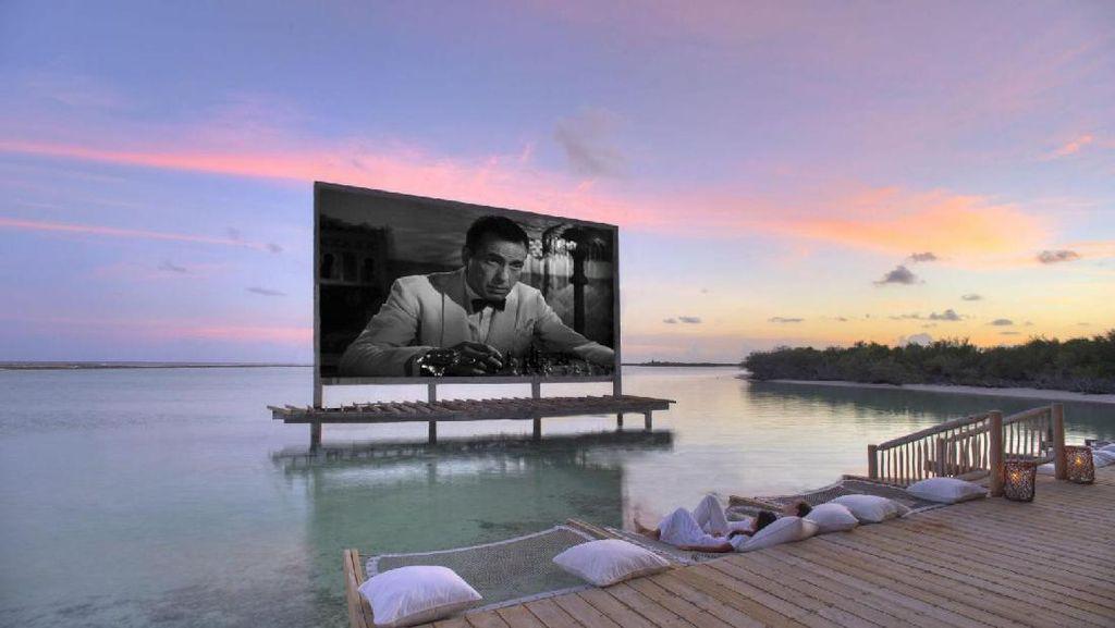 Bikin Mupeng, Resort Ini Punya Bioskop Sampai Perosotan di Pulau