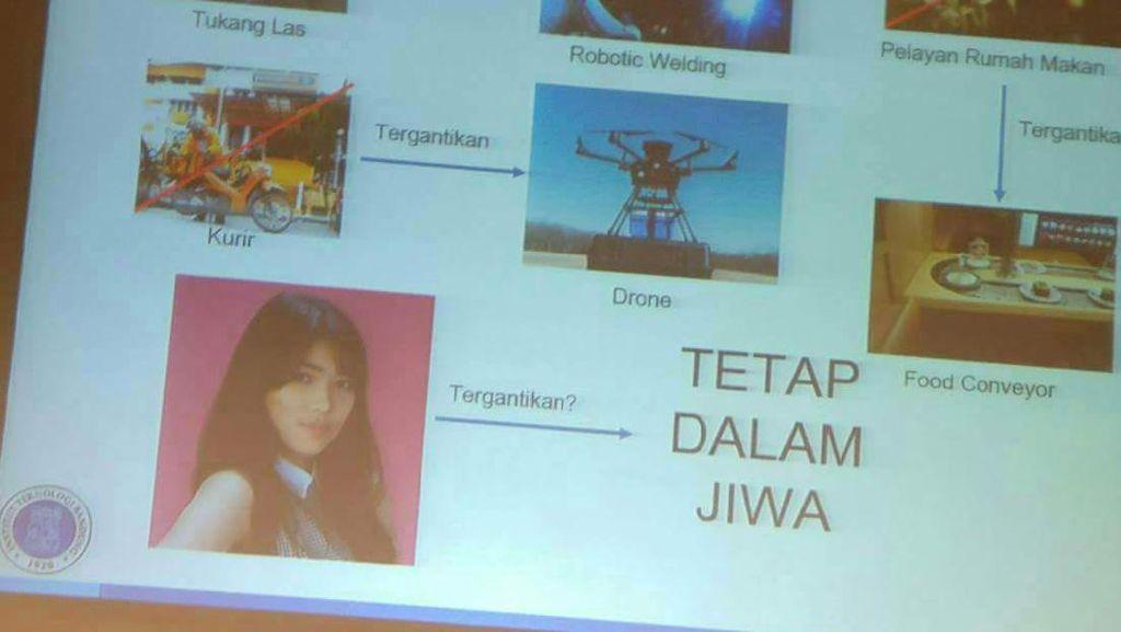 Cerita Dosen ITB Soal Munculnya Isyana di Penyambutan Maba