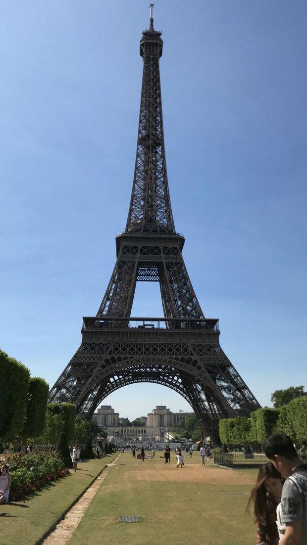 Menara Eiffel (Ahmad Toriq/detikTravel)